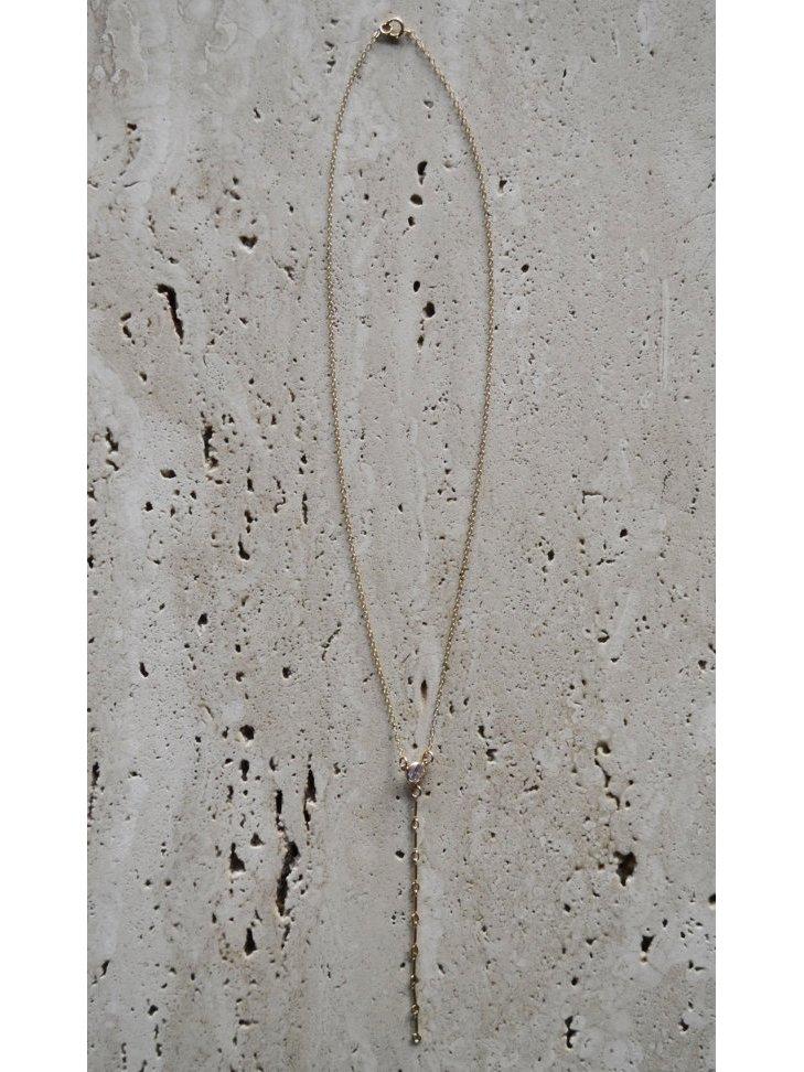 Fire & Honey Deep V Necklace