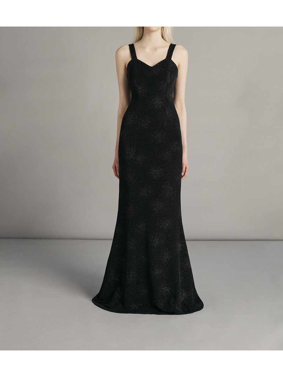 SARAH BOND Suppé Sequin Dress Black