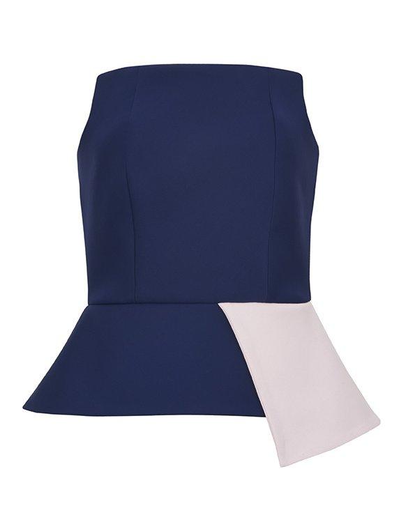 Sarah Bond Jou Jou Navy/Pink Corset