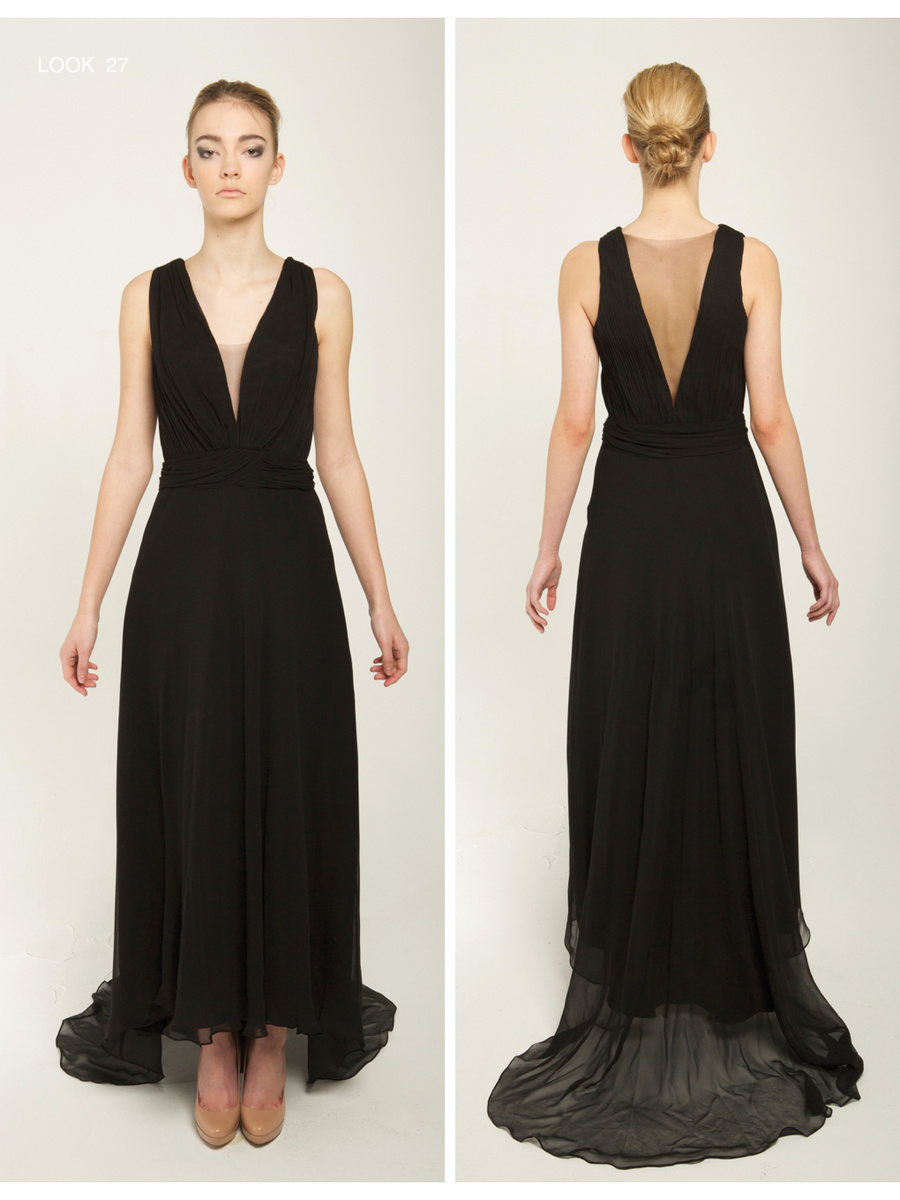 Narces Blacktail Gown