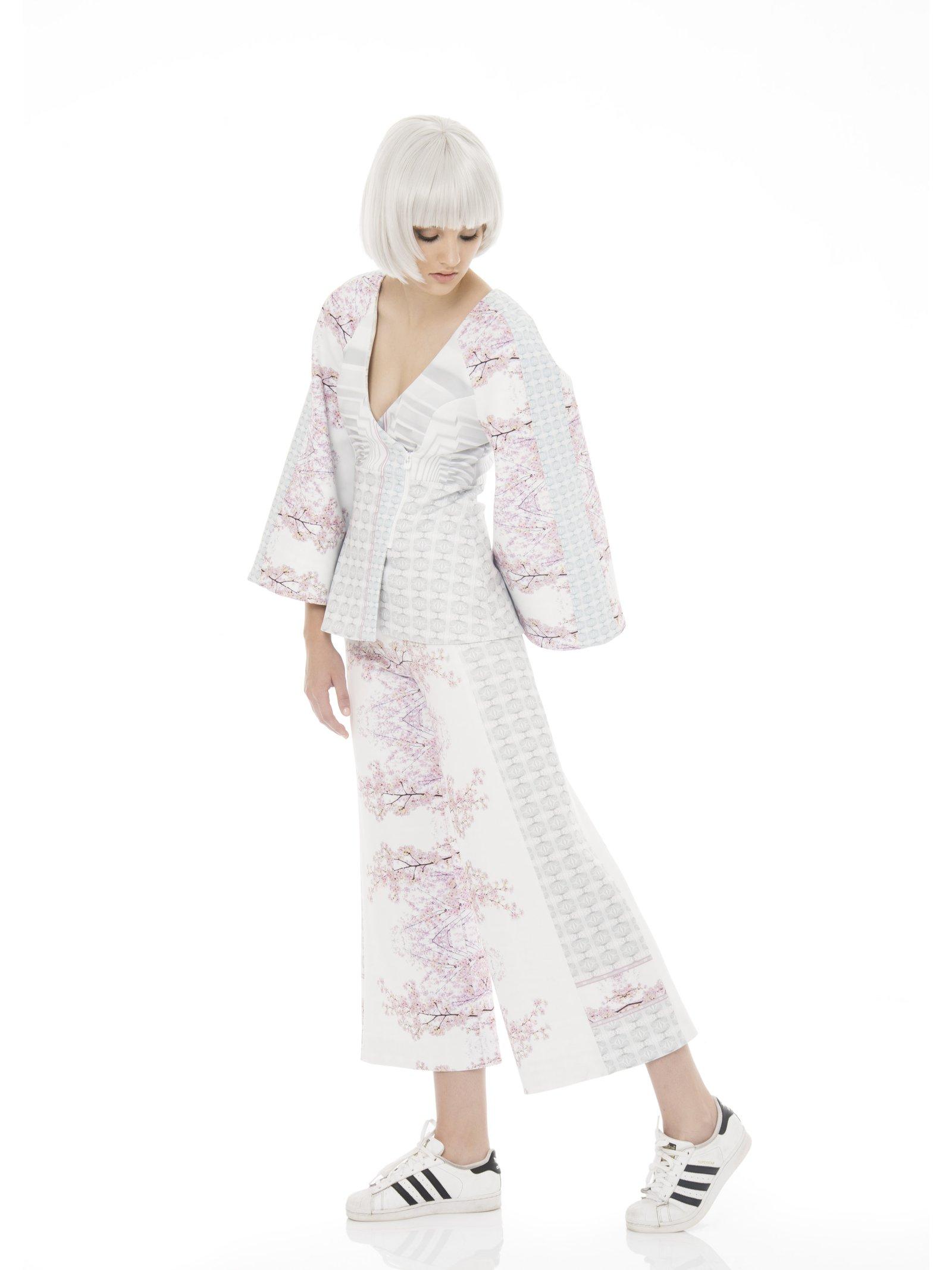 Ece Ozalp Cherry Blossom Kimono