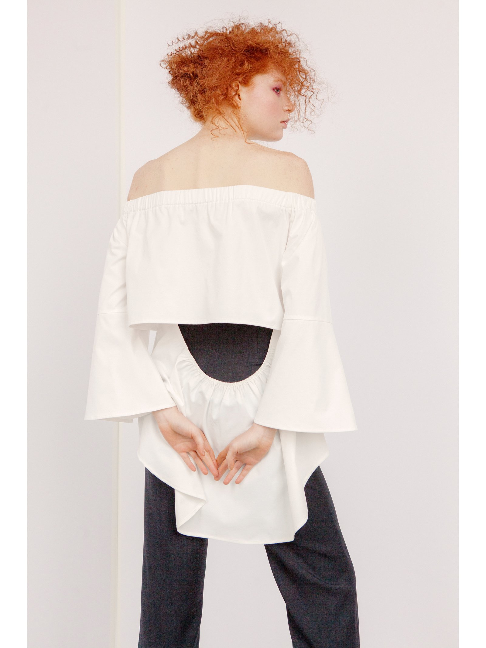 Hilary MacMillan Off the Shoulder Blouse