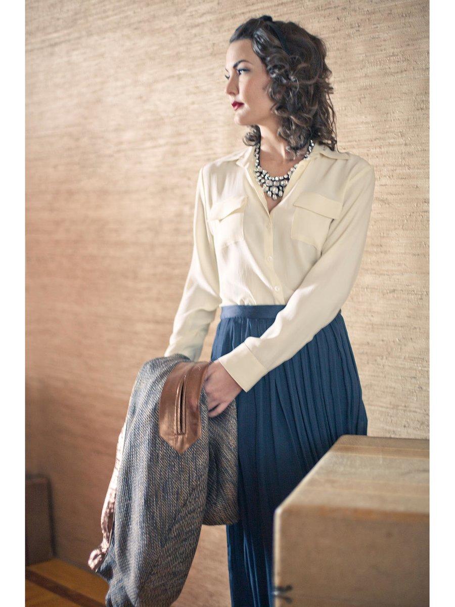 Hilary MacMillan Silk Maxi Skirt