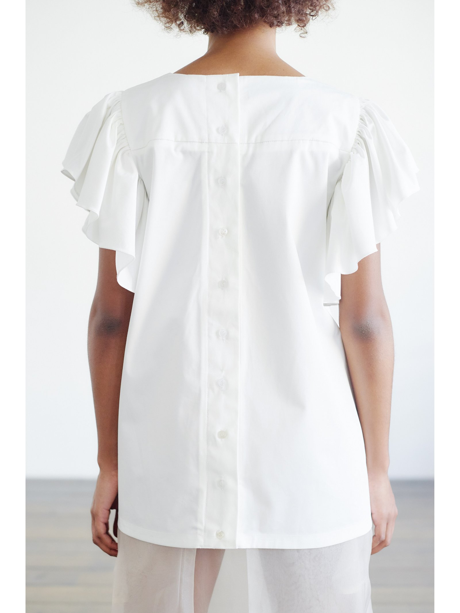 HB By Hanna Baranava White Shirt