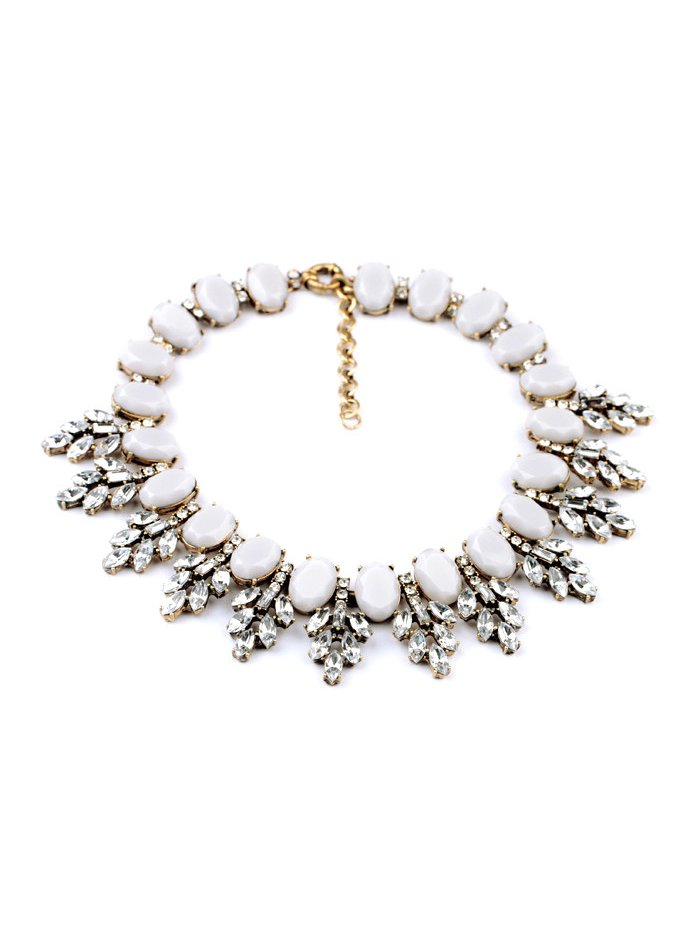 TotallyJewel Crystal Dove Necklace