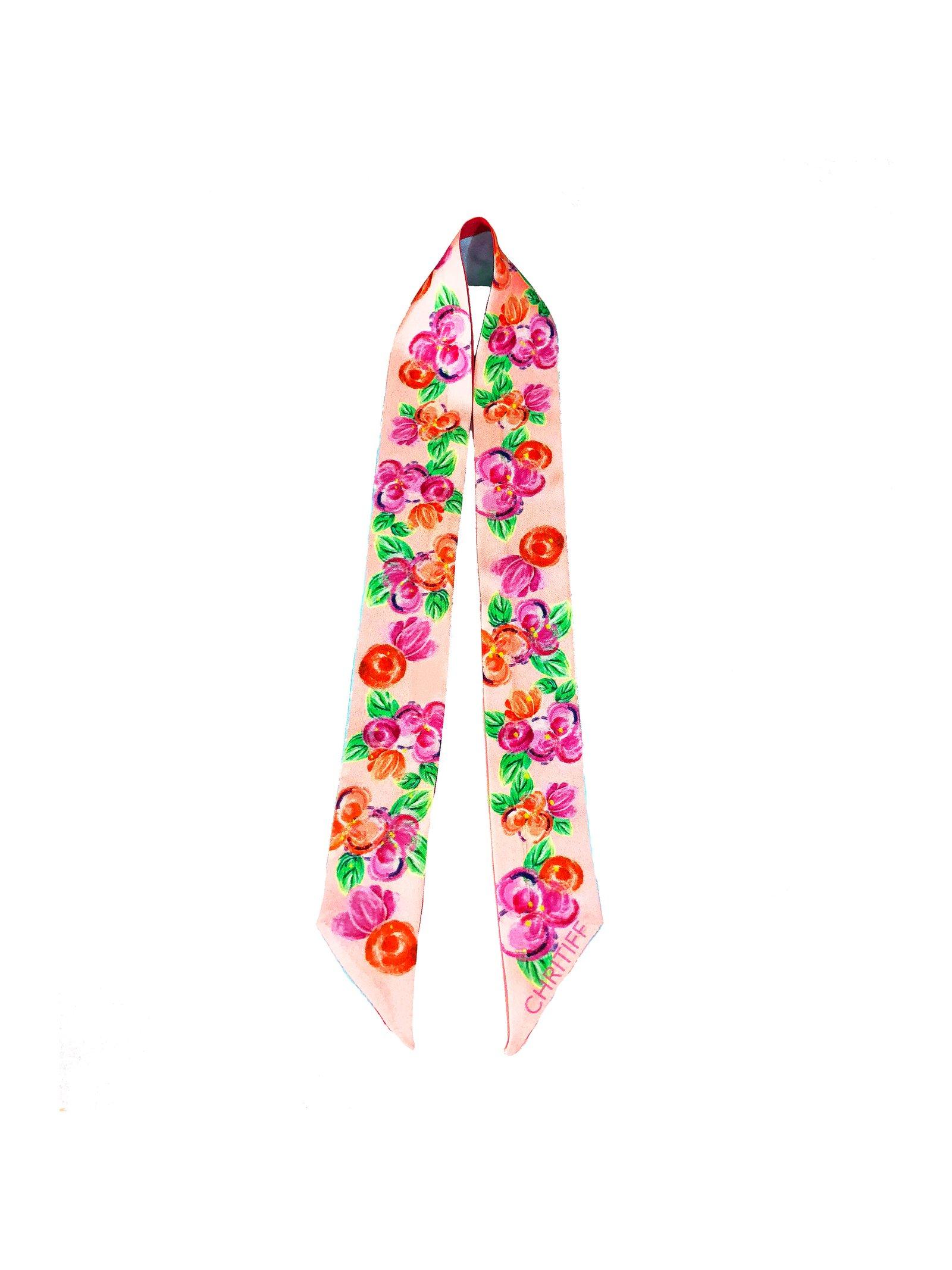 CHRITIFF Cherry Blossom Twilly (Pink)