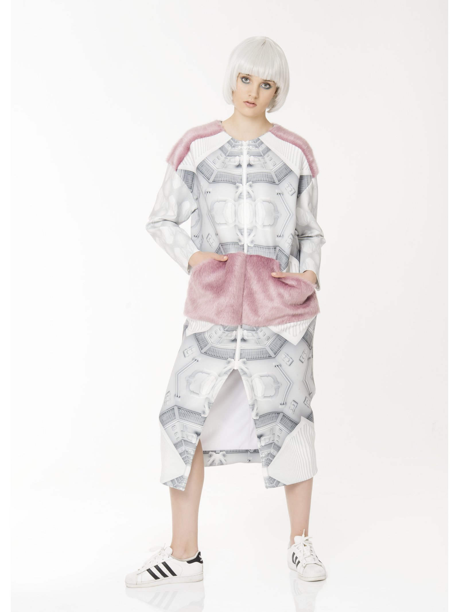Ece Ozalp Oversize Coat