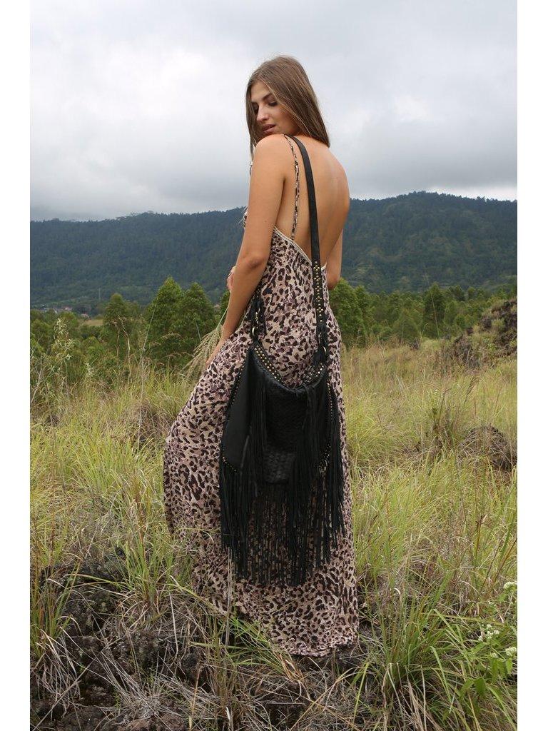 Tulle & Batiste Hunter Tassel Bag Black