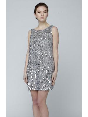 Narces Mirror Mini Dress