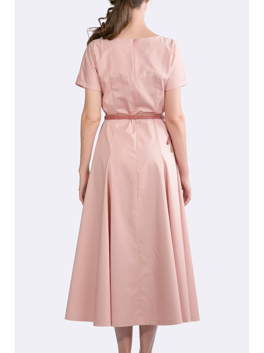 HB by Hanna Baranava Long Pink Dress