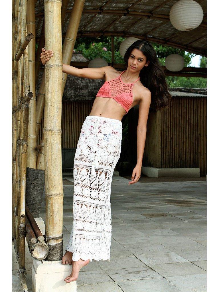 Tulle & Batiste Camelia Crochet Skirt